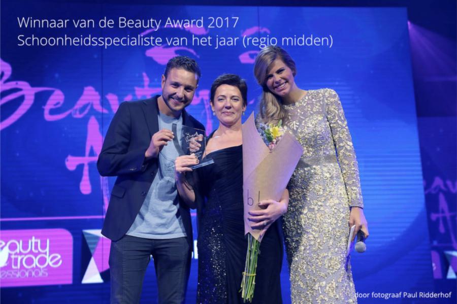 Winnaar Beauty Award 2017 | De Beautycoach